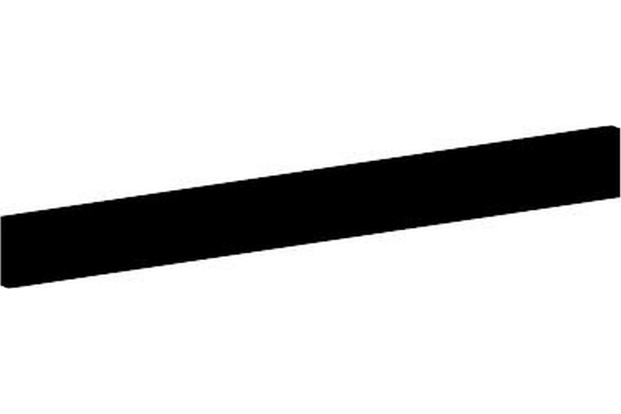 6 st. brädor till Pipe 28x120 mm x120 cm svart, Övriga trädgårdstillbehör