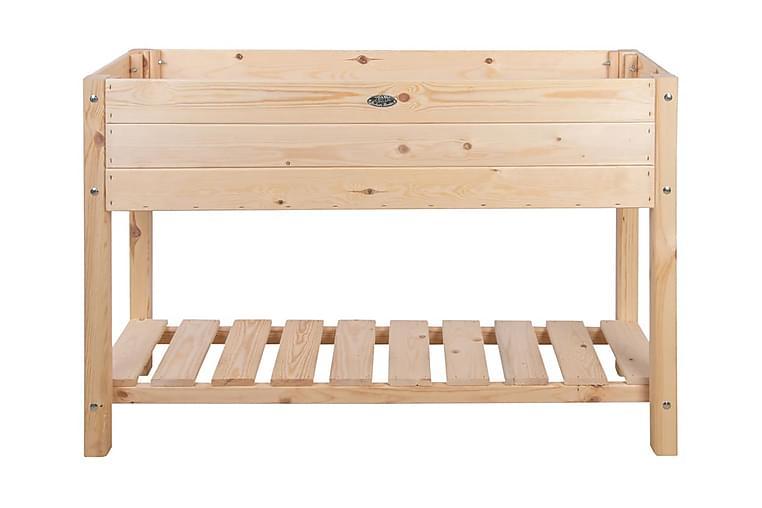 Esschert Design Upphöjd odlingslåda ljust trä L - Brun - Utemöbler - Tillbehör - Övriga trädgårdstillbehör