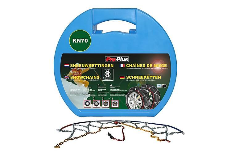 ProPlus Snökedjor till bil 12 mm 2-pack KN70 - Silver - Utemöbler - Tillbehör - Övriga trädgårdstillbehör