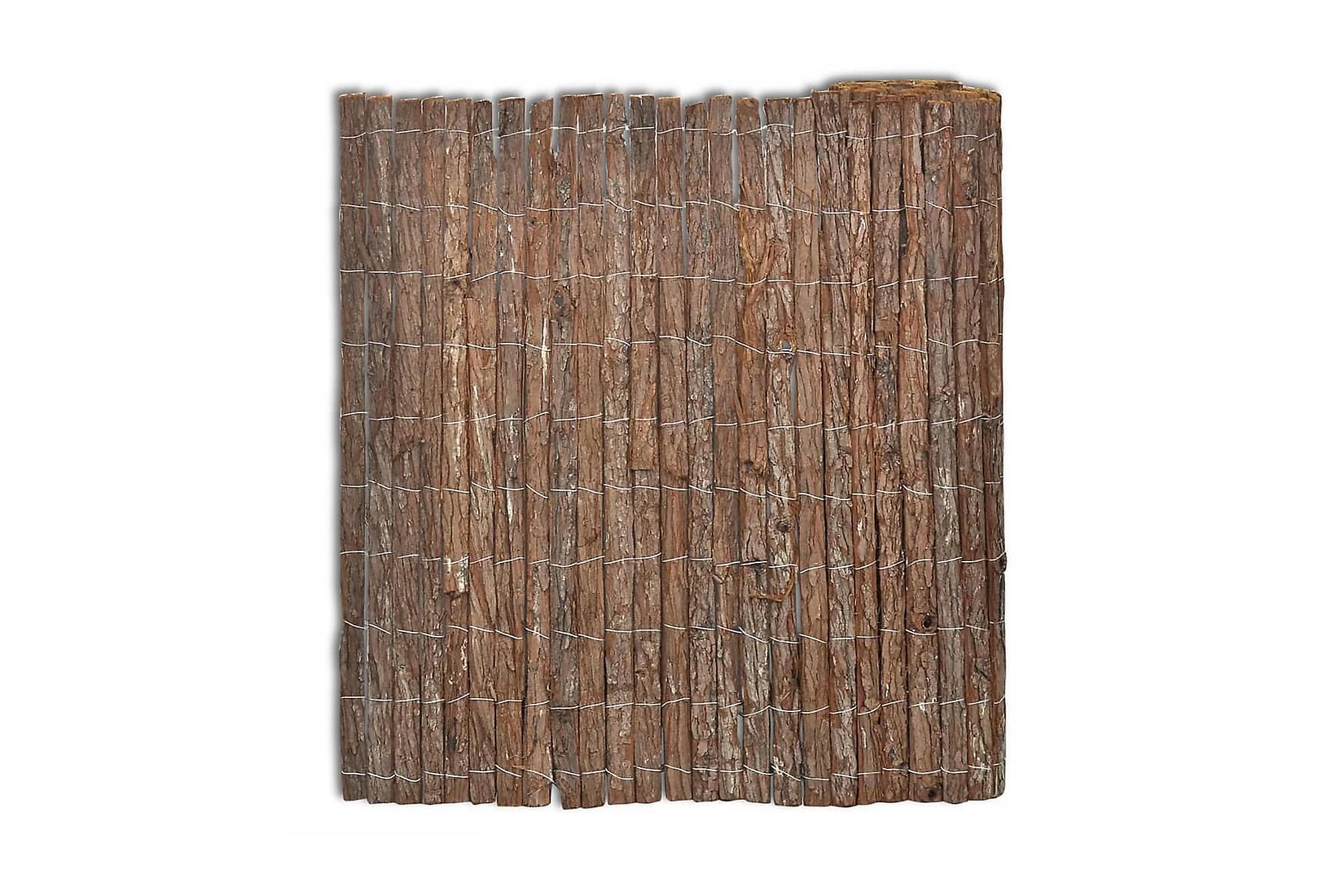 Vindskydd bark 400×125 cm