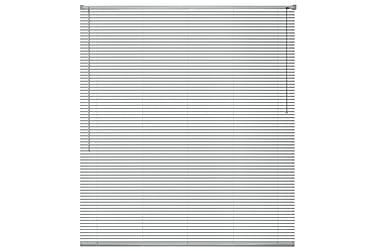Cordele Persienner 60x220 cm Aluminium
