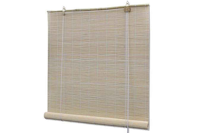 Rullgardin bambu 100x220 cm naturlig - Natur - Utemöbler - Tillbehör - Presenningar