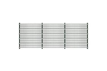 6 m Panel Staket med Stolpar 2 m Höjd