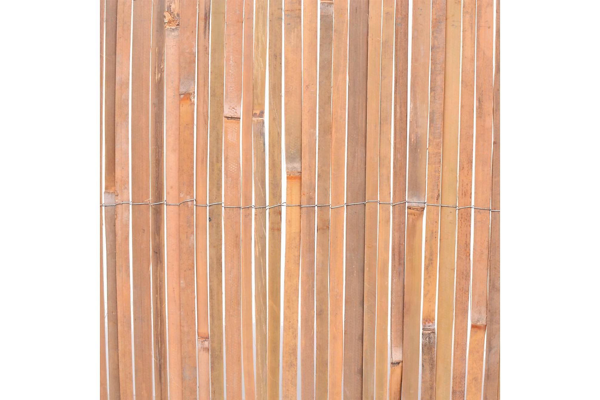 Bambustaket 100x400 cm, Staket & grindar