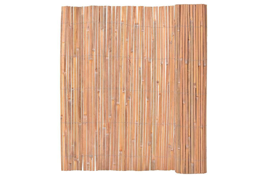 Bambustaket 150x400 cm - Brun - Utemöbler - Tillbehör - Staket & grindar