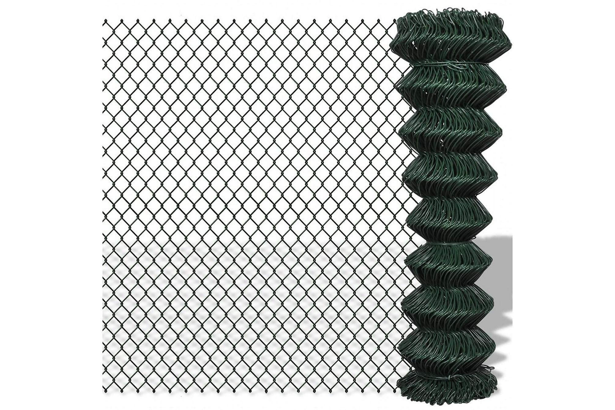 Flätverksstängsel 1,5 x 25 m grön
