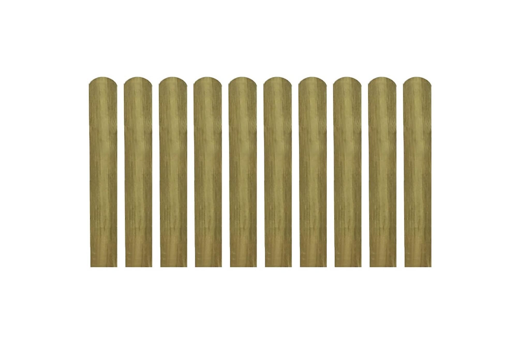 Impregnerad staketribba 20 st 60 cm trä
