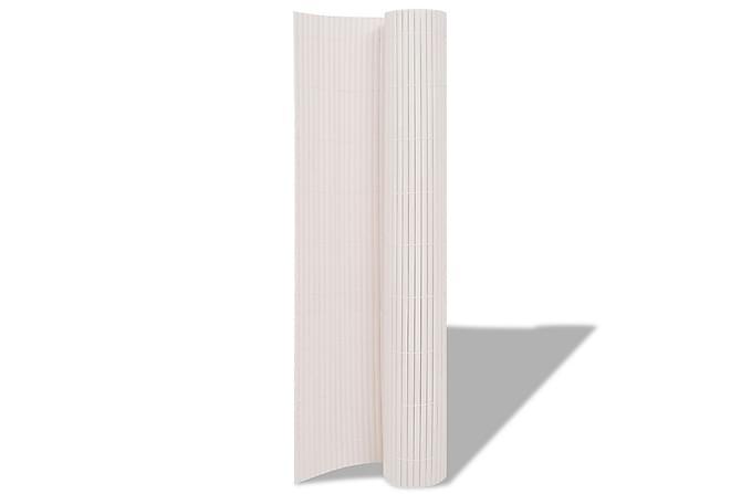 Insynsskydd 150x300 cm vit - Utemöbler - Trädgårdstillbehör - Staket & grindar