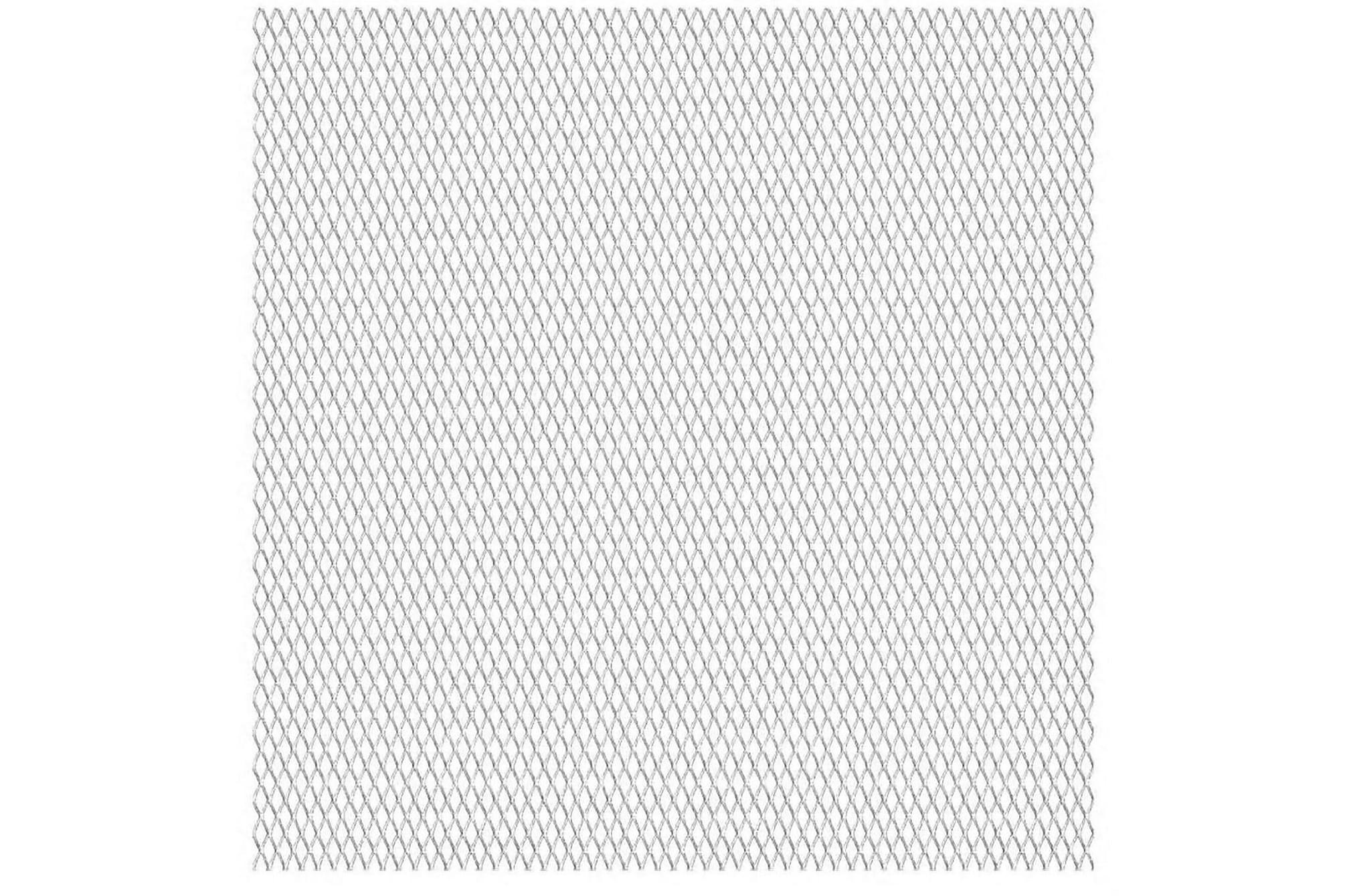 Platta av sträckmetall i rostfritt stål 50×50 cm 20x10x2 mm