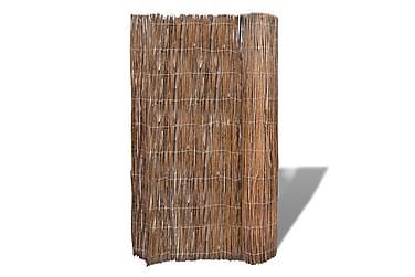 STAKET av Pilkvistar till Trädgård 300 x 100 cm
