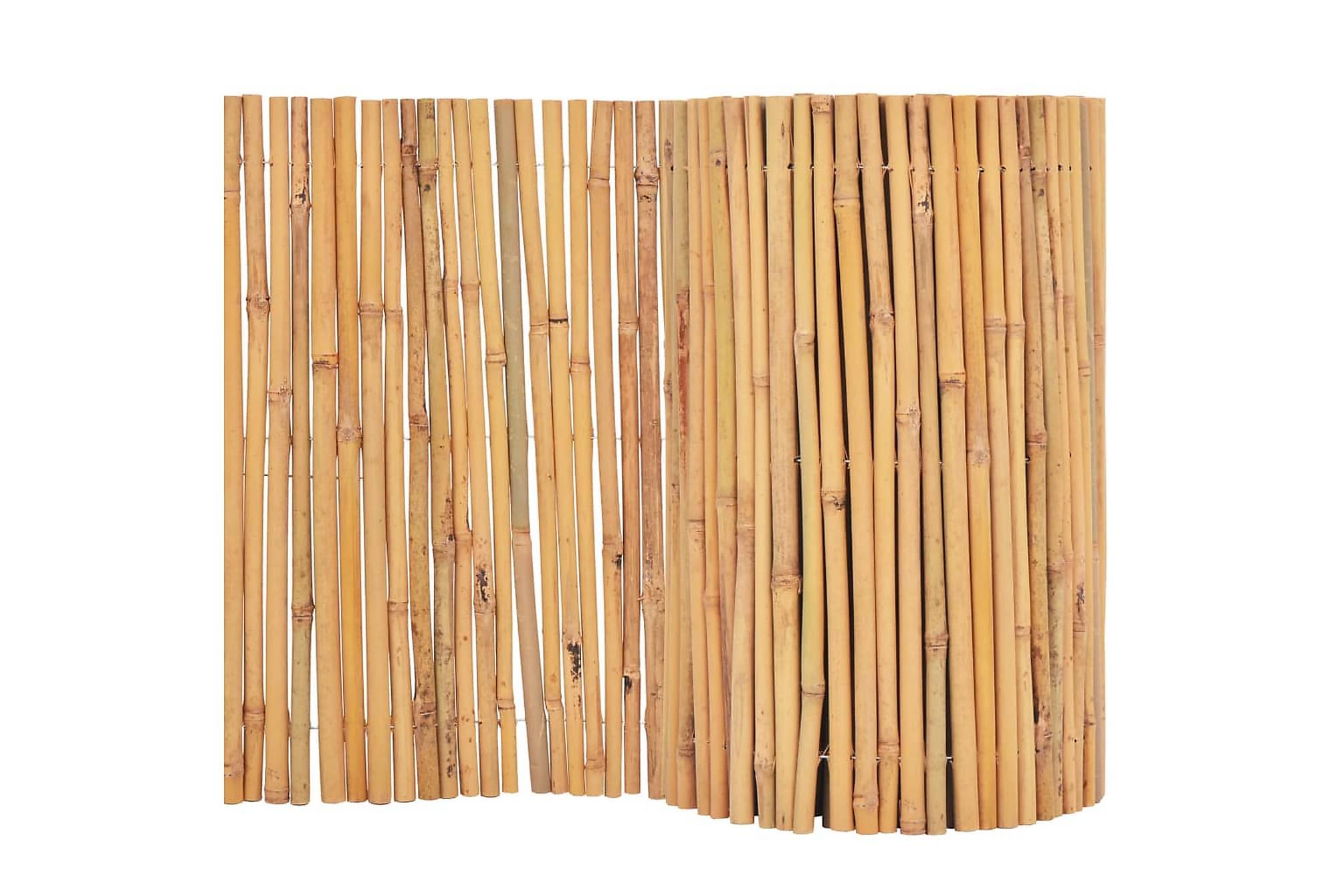 Bambustaket 500×50 cm
