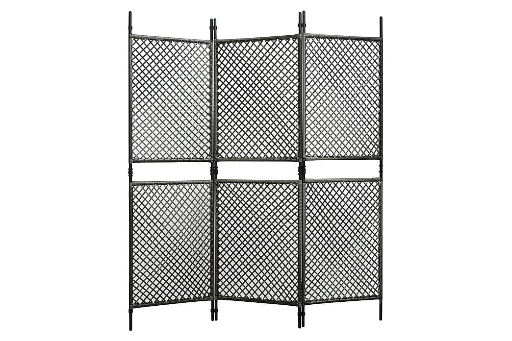 Staketpanel konstrotting 1,8x2 m antracit - Antracit - Utemöbler - Tillbehör - Staket & grindar