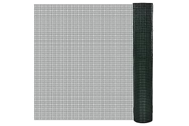 TRÅDNÄT ståltrådsnät 1x10 m PVC-belagd, 25x25 mm