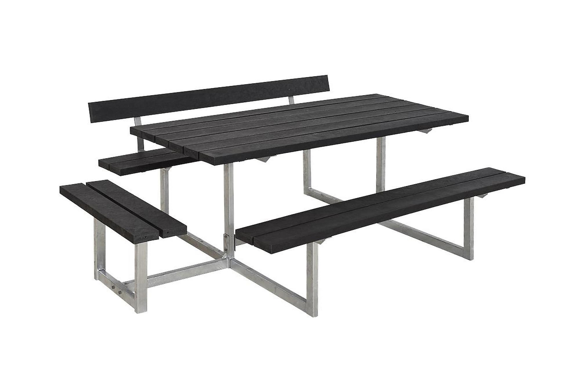 BASIC Bänkset Grå/Svart, Bänkbord