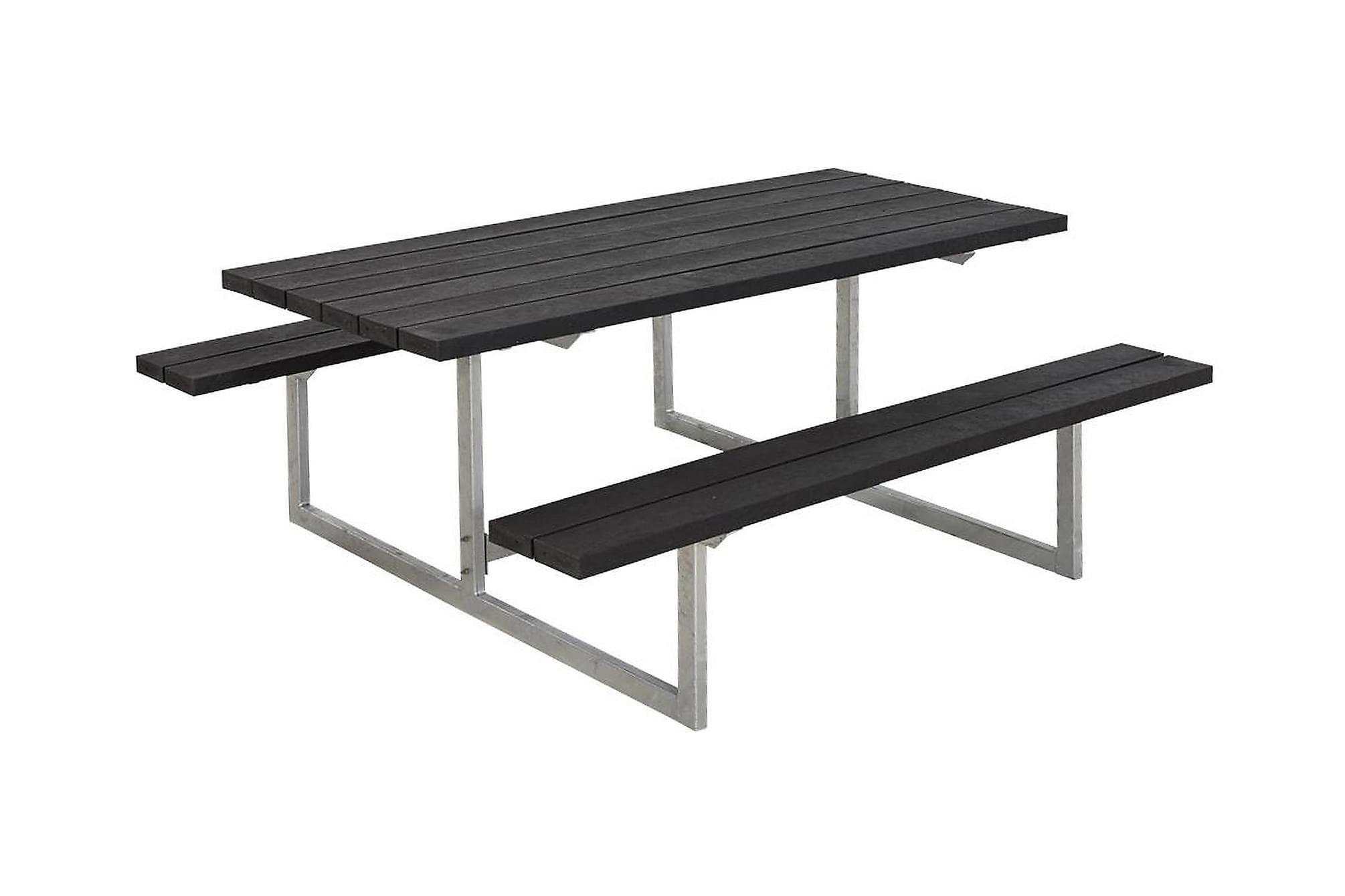 BASIC Bänkset Svart, Bänkbord