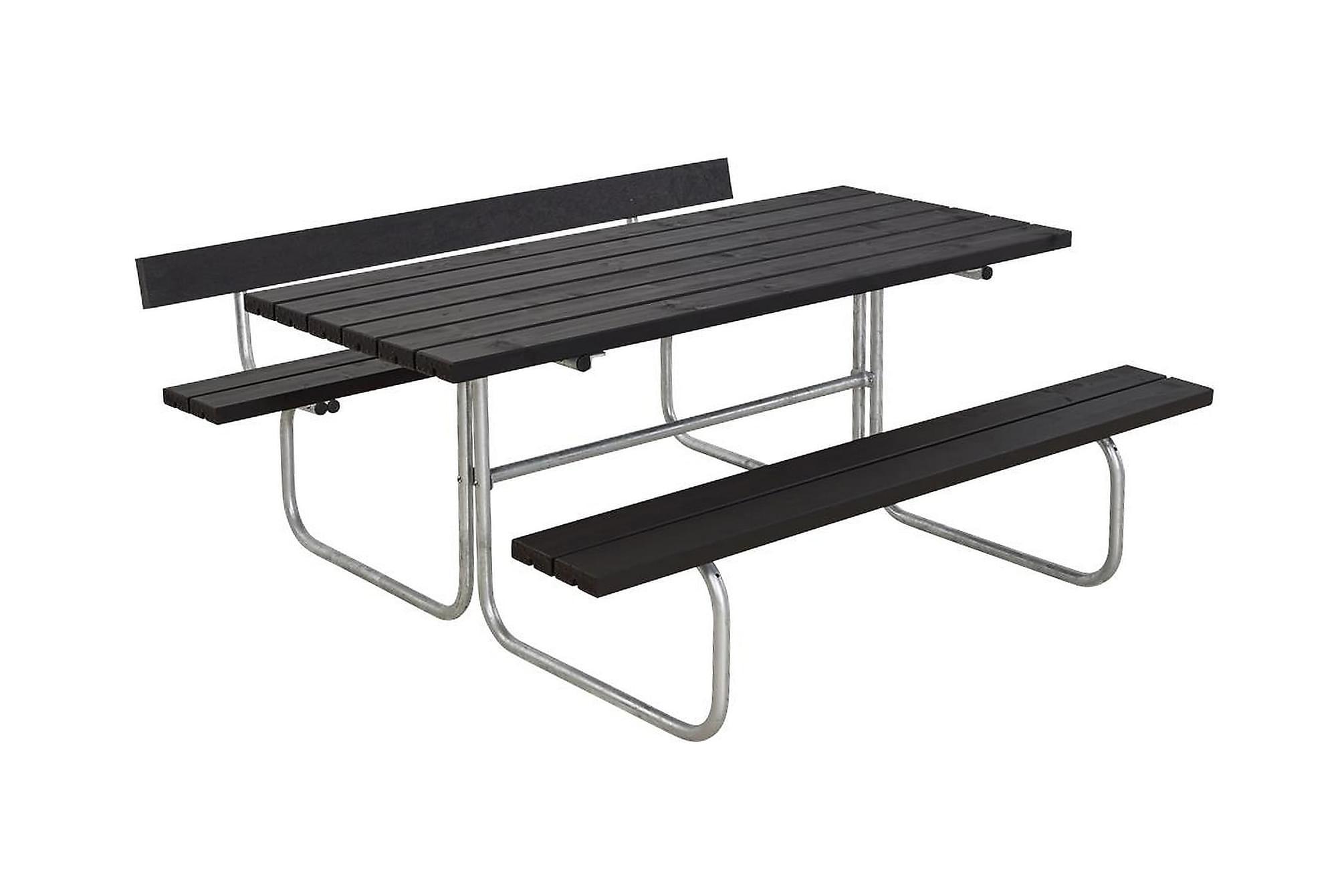 CLASSIC bord- och bänkset med 1 ryggstöd B: 166 L: 177 H: 75, Bänkbord