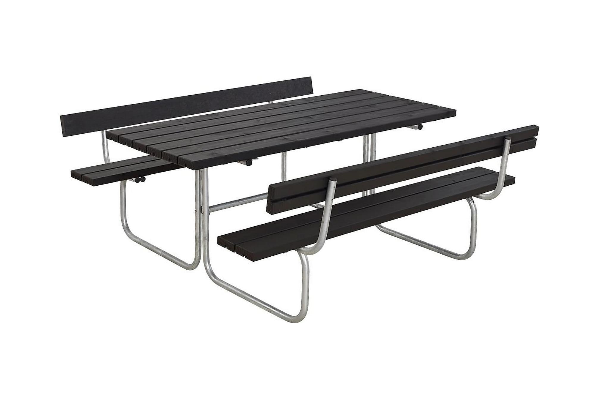 CLASSIC bord- och bänkset med 2 ryggstöd B: 177 L: 177 H: 75, Bänkbord