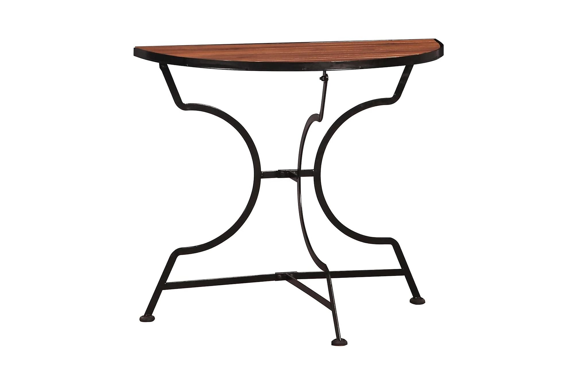 Cafébord 85x43x75 cm massivt akaciaträ, Cafebord