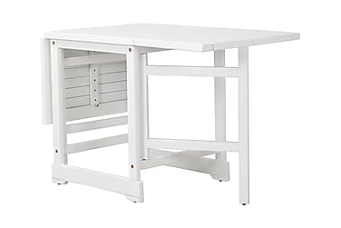 DALARÖ Slagbord 67-140x60 Vitlackad Akacia