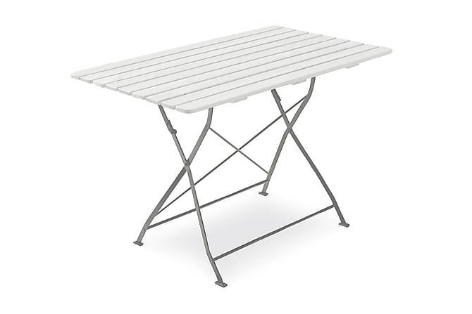 HILLERSTORP KRÖGAREN Cafébord 70x120 Vit - Utemöbler - Utebord - Cafebord