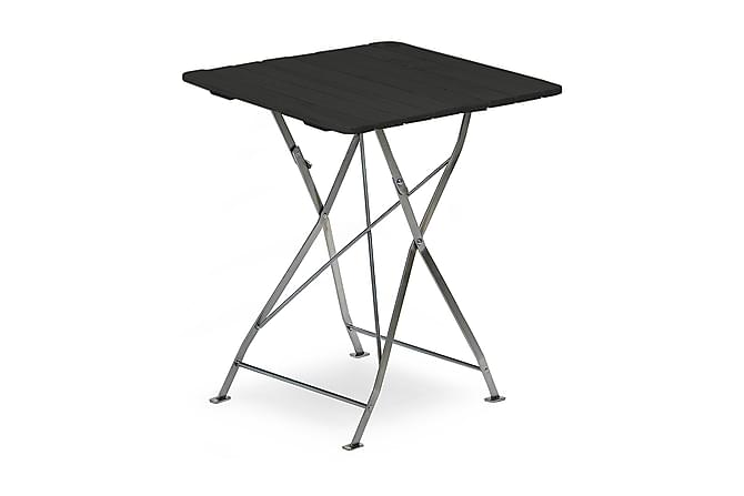 KRÖGAREN Bord 70x70 Svart - Utemöbler - Utebord - Cafebord