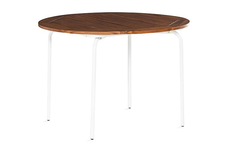 CHELAN Matbord 110 cm Natur - Utemöbler - Utebord - Matbord ute