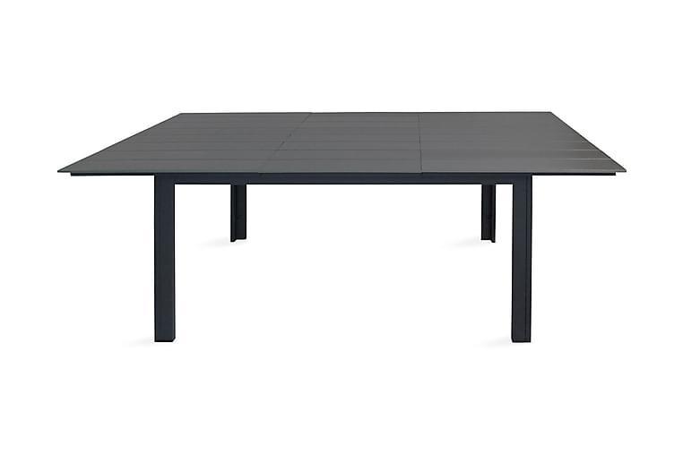 LEVELS Förlängningsbart Matbord 224 cm Svart/Grå - Utemöbler - Utebord - Matbord ute
