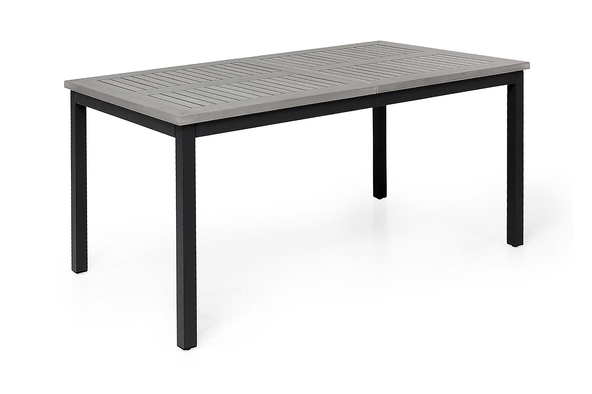 MONACO Förlängningsbart Matbord 152-210×90 Svart