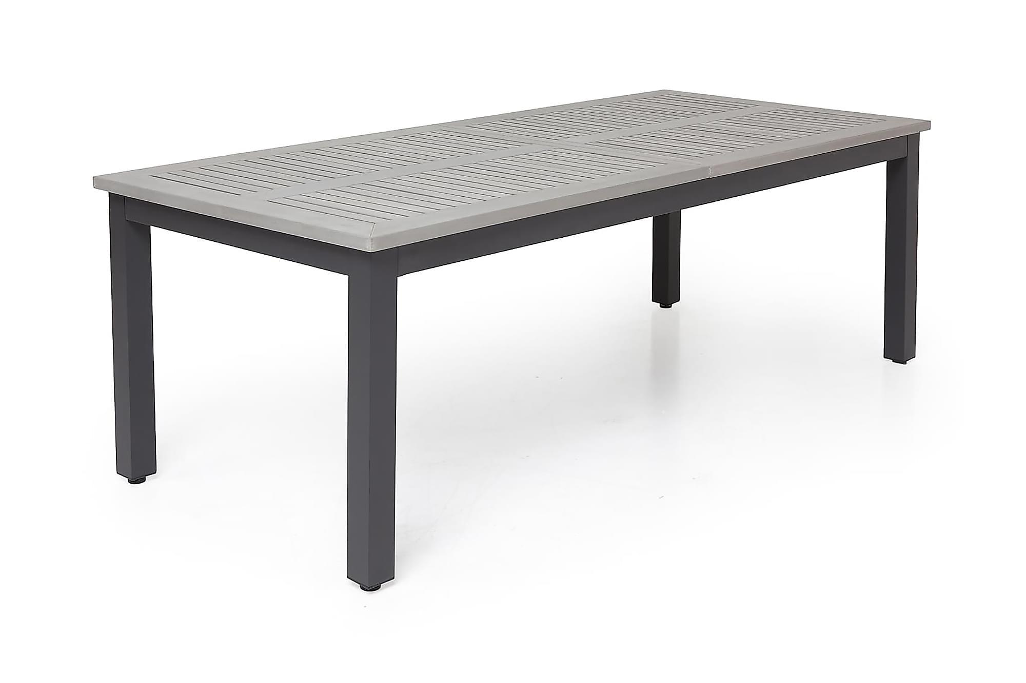 MONACO Förlängningsbart Matbord 220-280×100 Svart