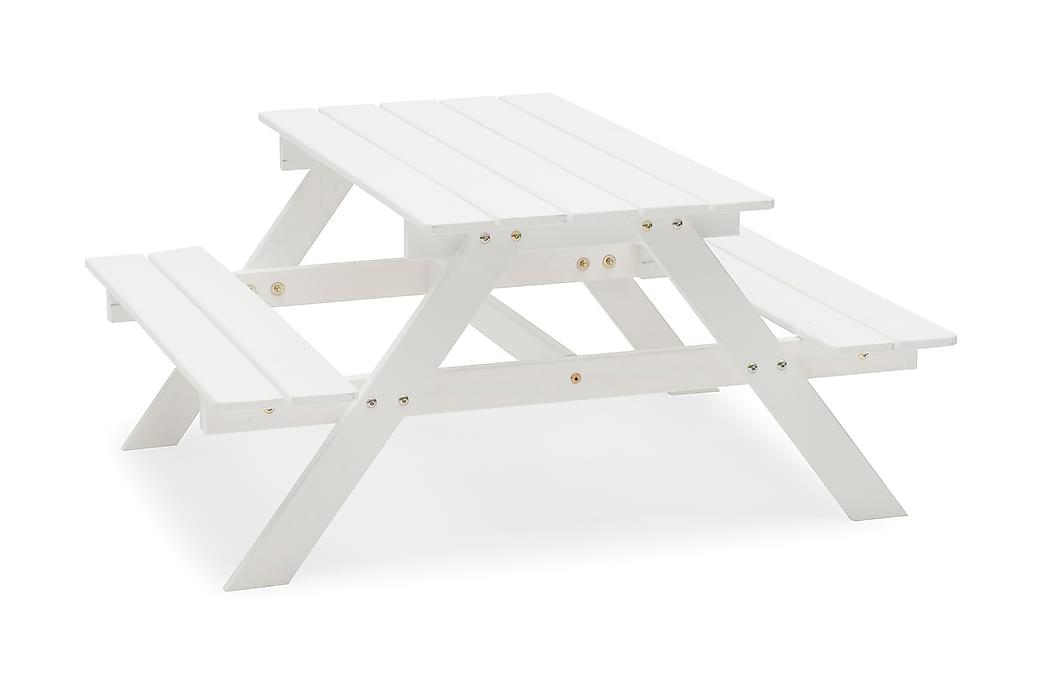 PICNIC Mini Vit - Utemöbler - Utebord - Bänkbord