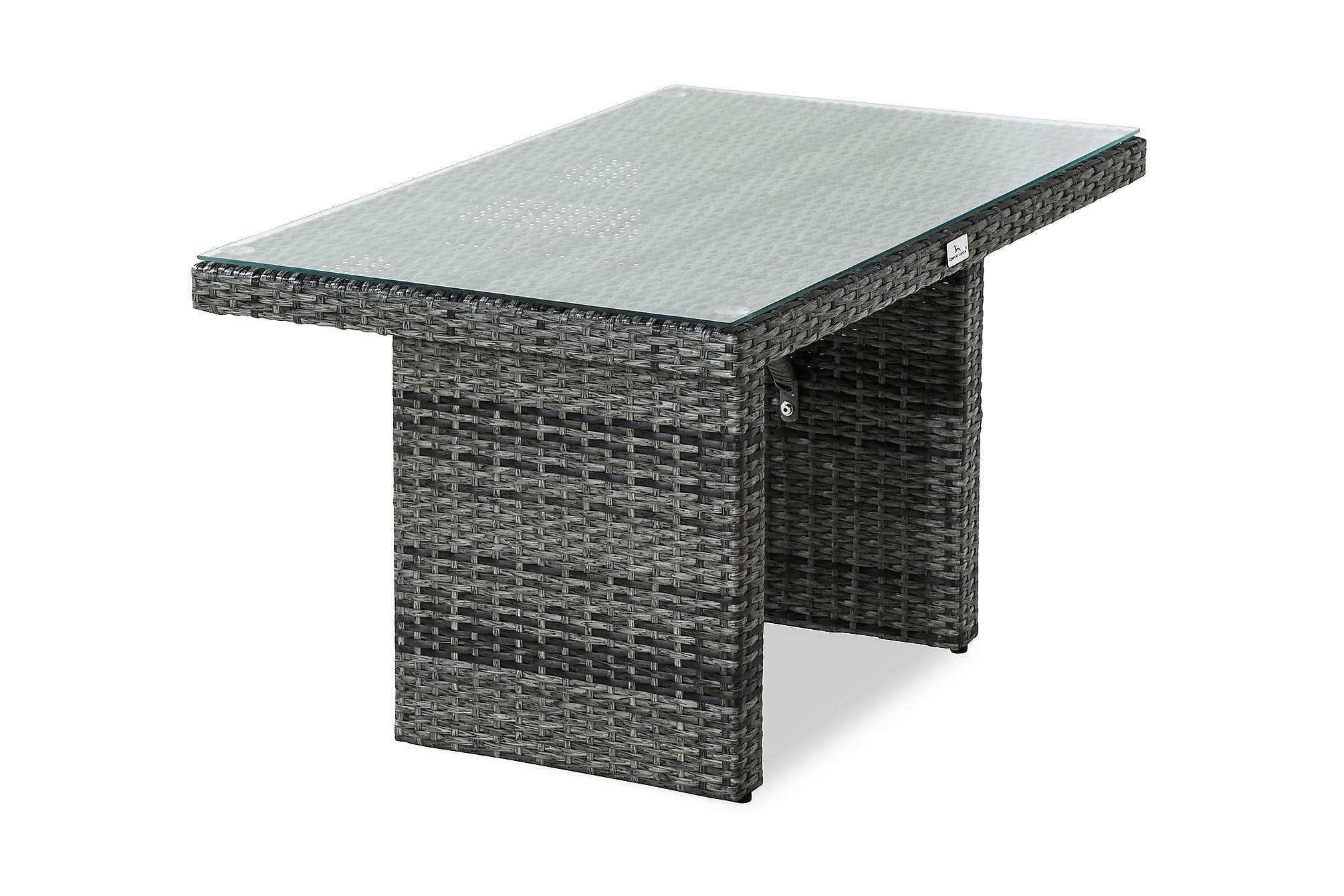 BAHAMAS Högt Soffbord 100×60 Grå