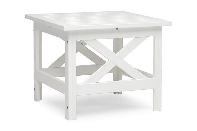 HILLERSTORP LÄCKÖ Loungebord Vit - Utemöbler - Balkongmöbler - Balkongbord