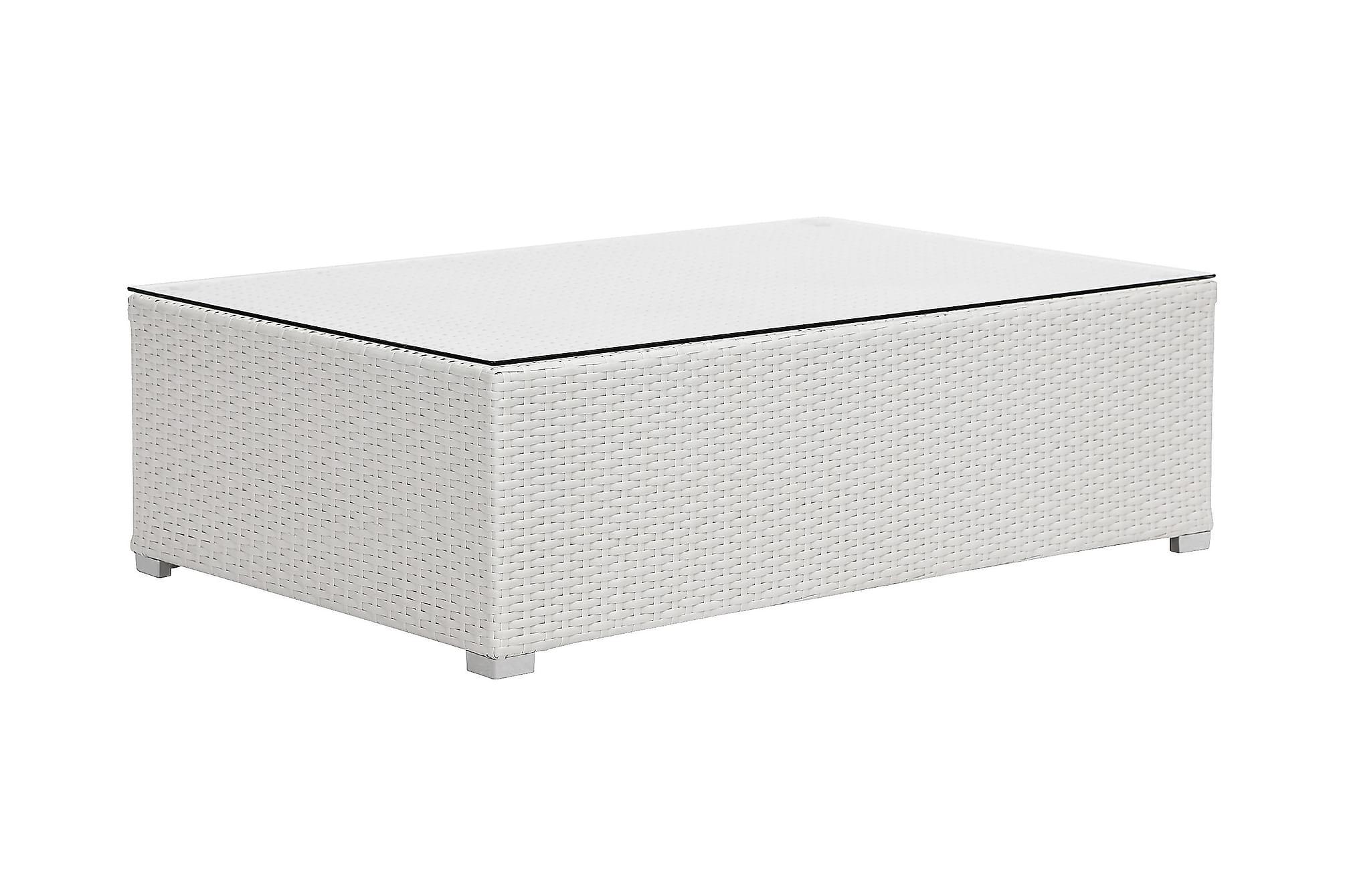 LUPO Soffbord 100×65 Vit