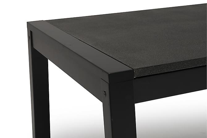 STOLTÖ Bord 120 Svart/Komposit - Utemöbler - Utebord - Soffbord