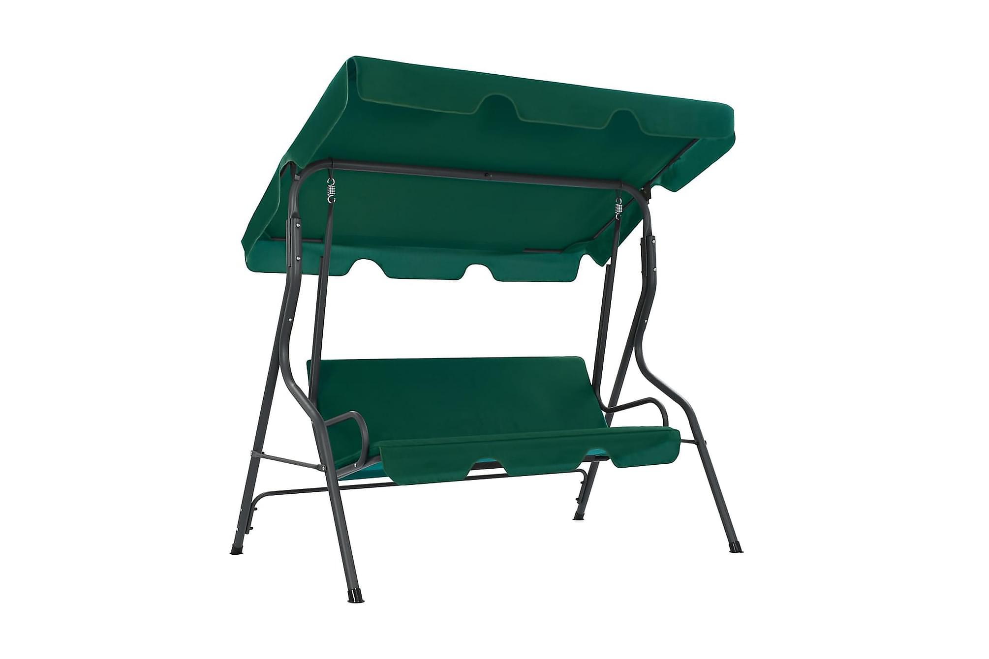 Hammock grön 170x110x153 cm tyg