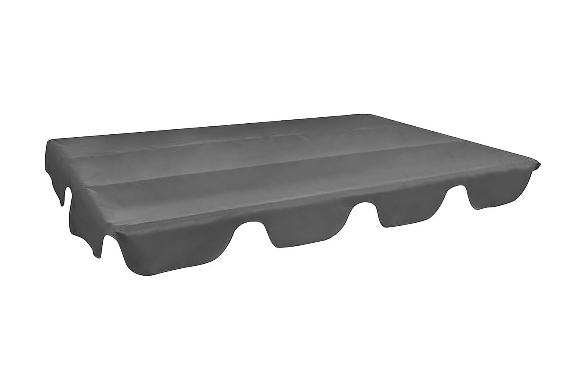 Reservtak för hammock grå 249×185 cm