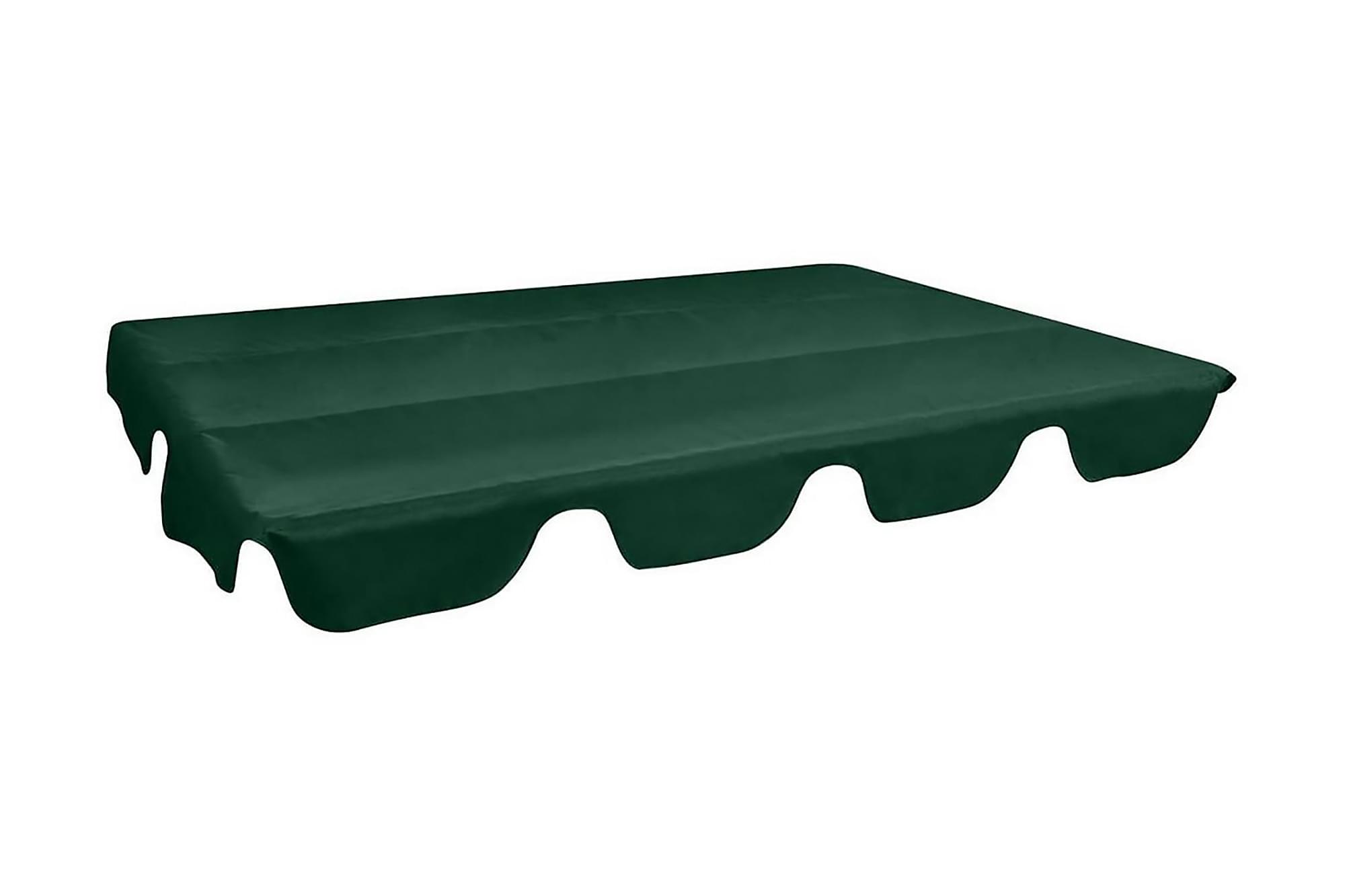 Reservtak för hammock grön 249×185 cm