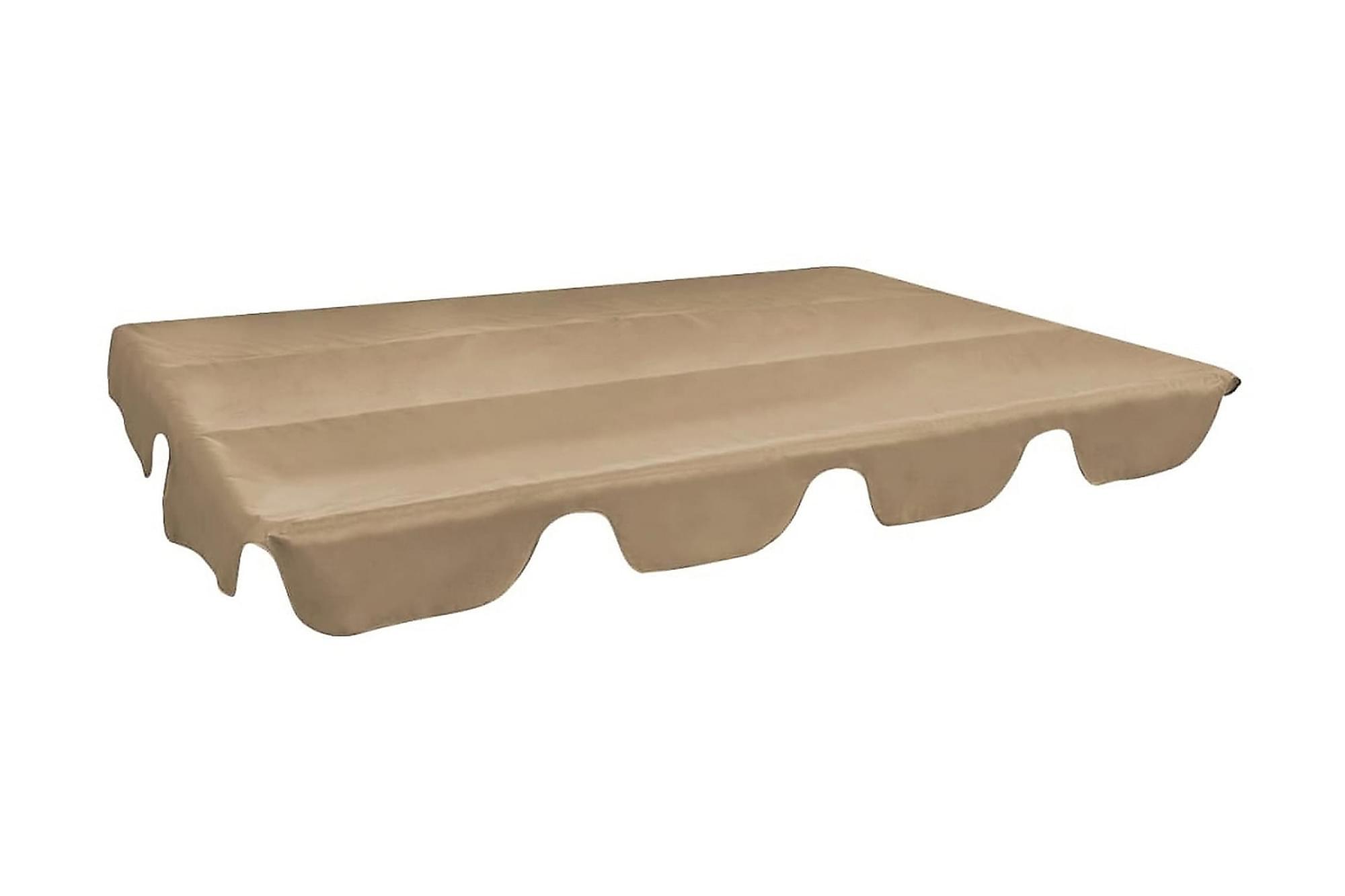 Reservtak för hammock taupe 249×185 cm