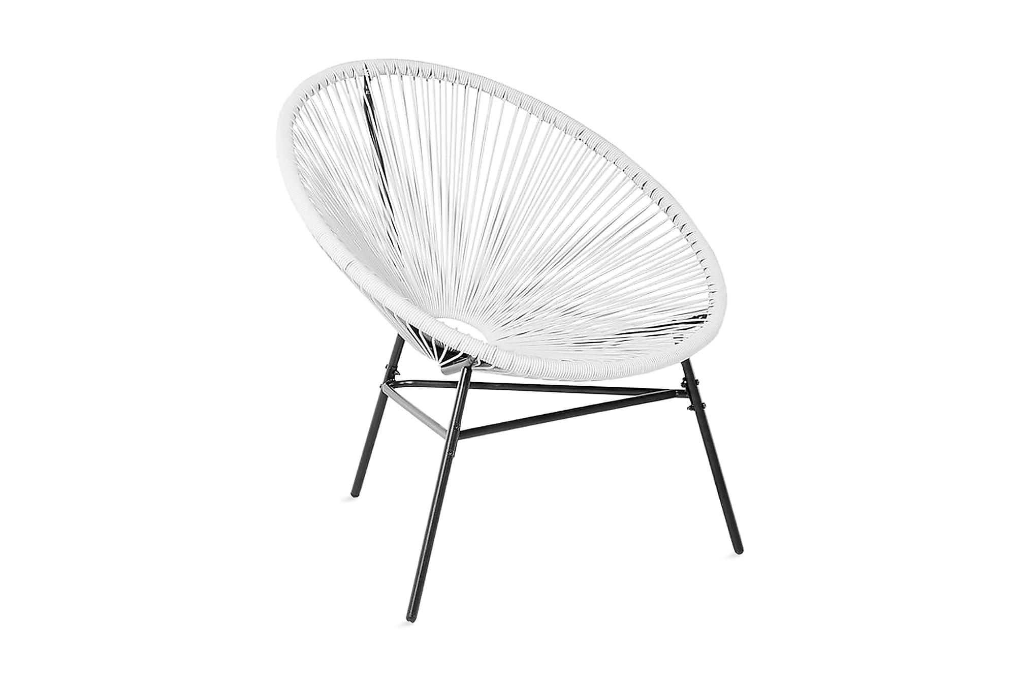 ACAPULCO Trädgårdsstol 2 st 76 cm, Matstolar