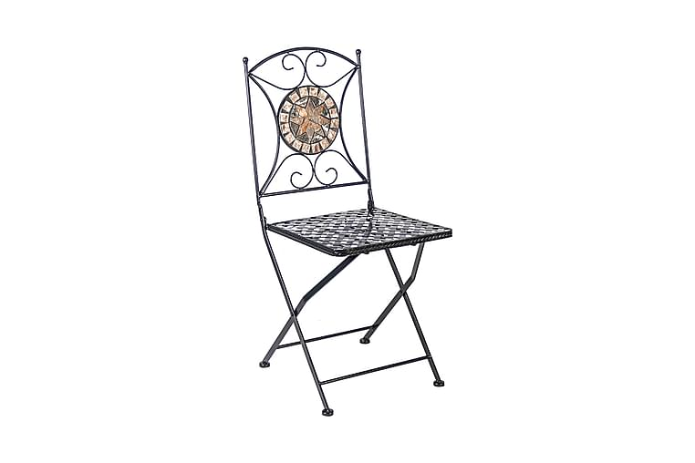 Chair Mosaic 36x36xh70 cm Ihopfällbar - Utemöbler - Balkongmöbler - Balkongstolar